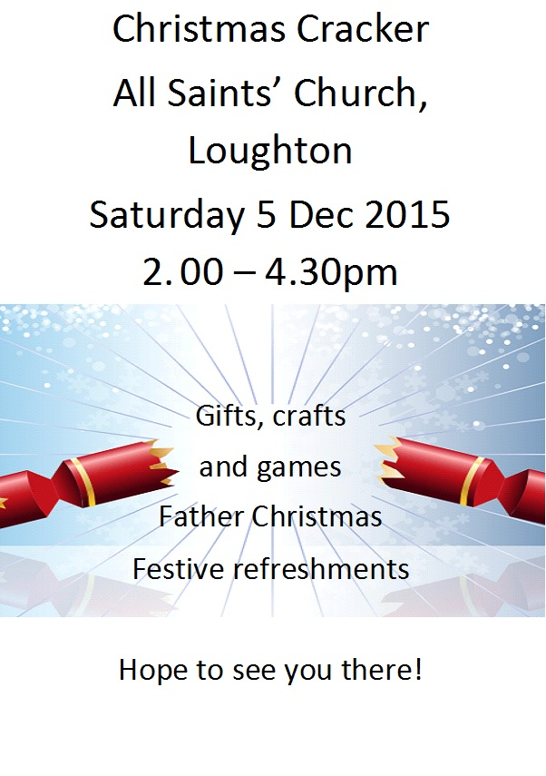 All Saints Church Loughton Christmas Event Poster