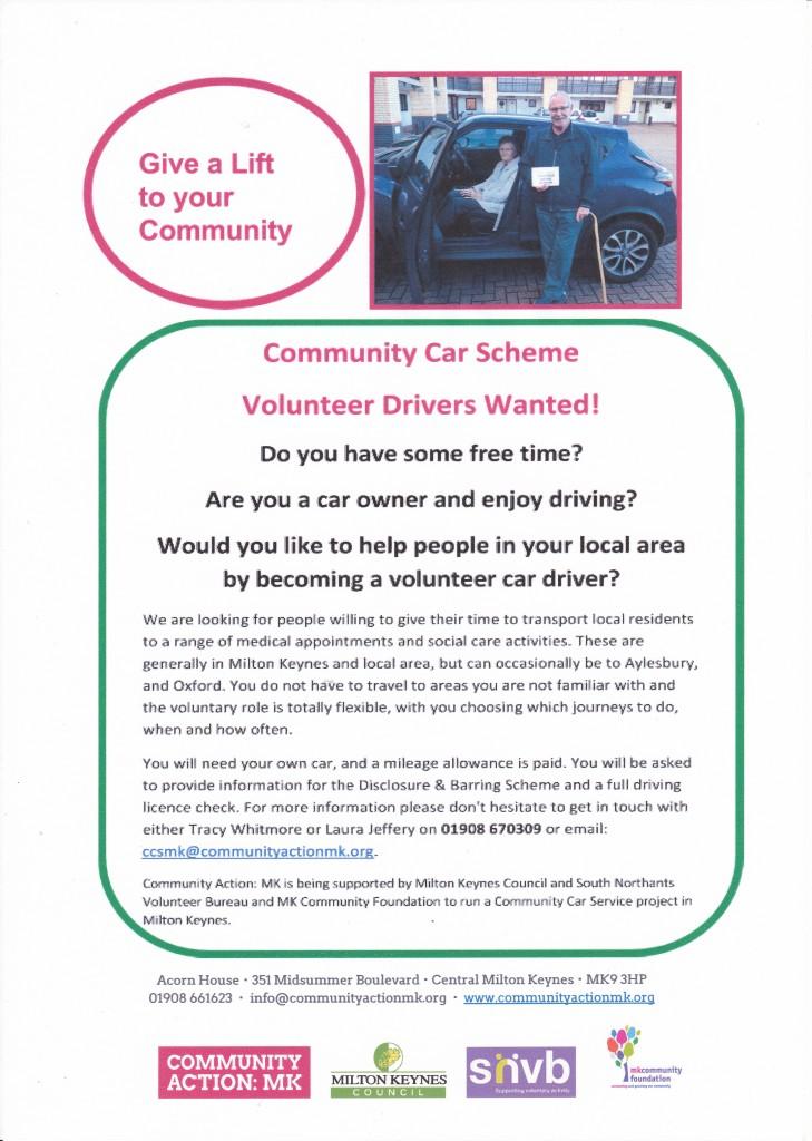 Volunteer Driving Scheme