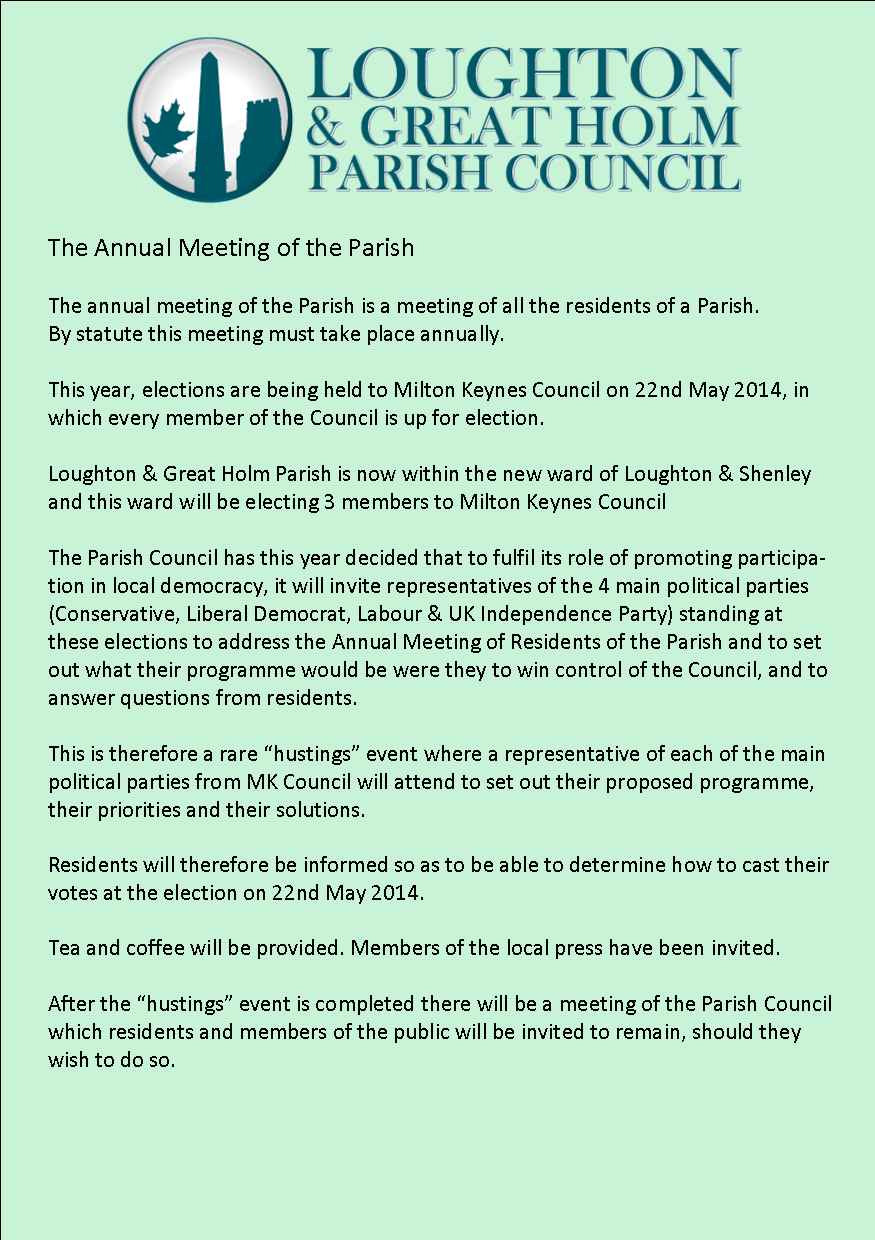 annual parish meeting leaflet p2